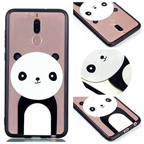 Huawei Mate 10 Lite Case, Ngift [Panda] [2 in 1] [Scratch Resistant Anti-fall] fashion Soft TPU Shockproof Case Cover for Huawei Mate 10 Lite