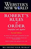 Webster's New World Robert's Rules of Order, Robert McConnell Productions Staff, 0764563998