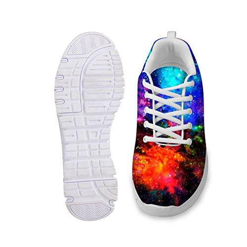 amp; Men 3 Breathable Sneakers galaxy Breathable Women Runnning Galaxy CHAQLIN Shoes Fashion Mesh 7wpXqXY