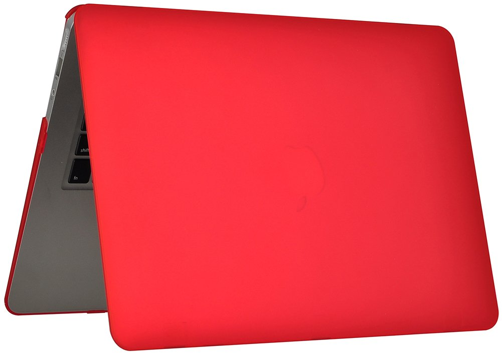 EU//UK Keyboard Version + Screen Protector -Pink + Keyboard Cover - Topideal 3 in 1 Matte Frosted Silky-Smooth satins -Touch Hard Shell Case Cover for 13-inch MacBook Air 13.3 Model: A1369 and A1466