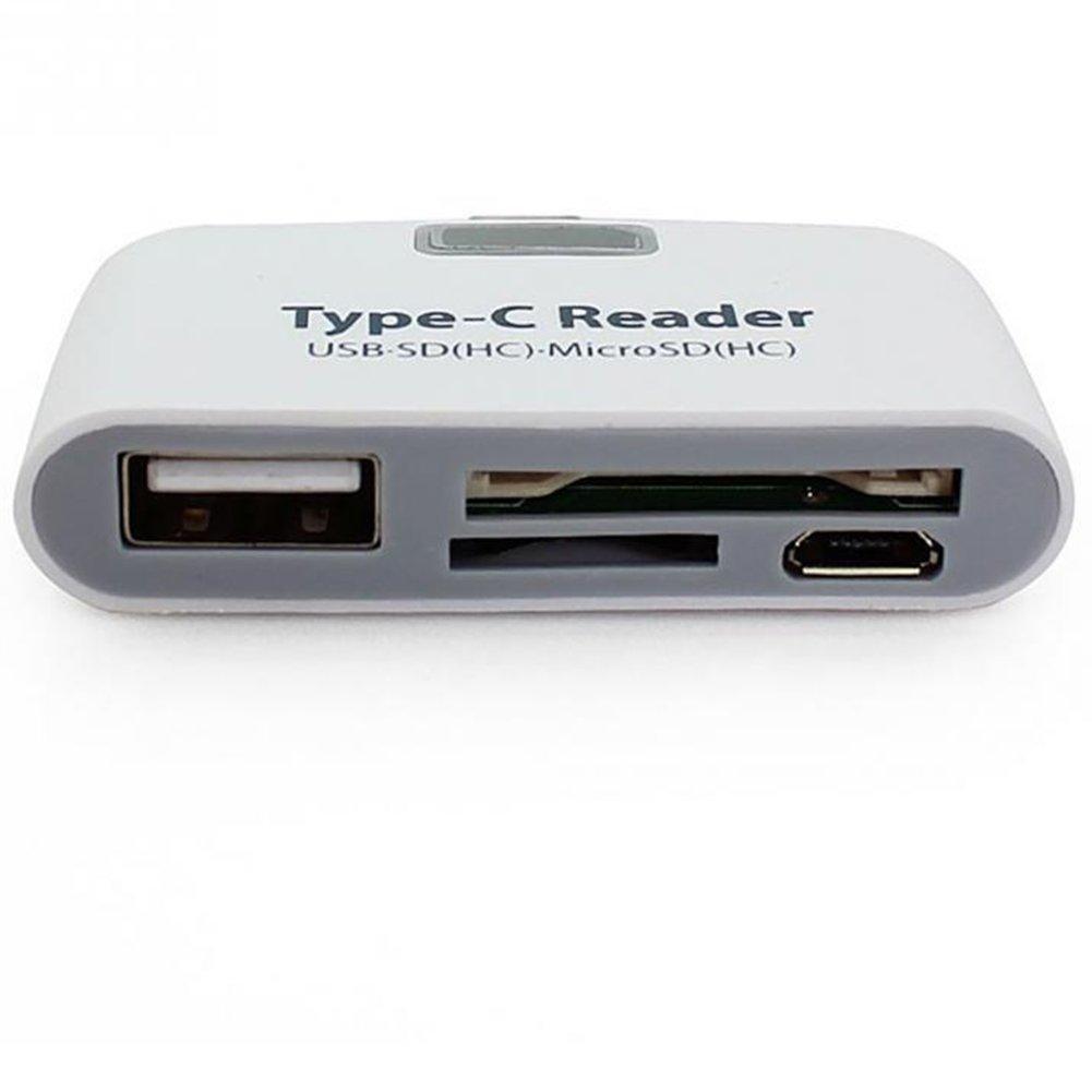 Komputerbay 10 in 1 SD//SDHC//MMC USB Reader Orange