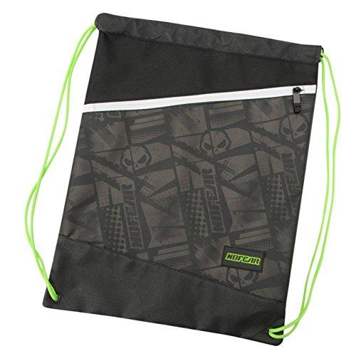 No Fear MX Gymsack Sports Training Urban Daypack Bag Drawstring Storage Compact