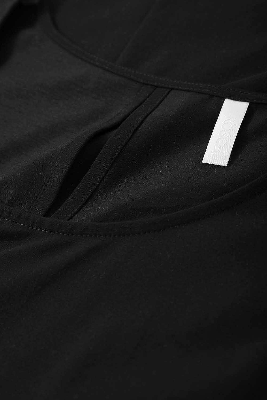 42-56 R/ösch Damen Shirt /ärmellos Schwarzes Achselshirt in A-Linie aus der Serie Curve Gr 1194603 Art-Nr