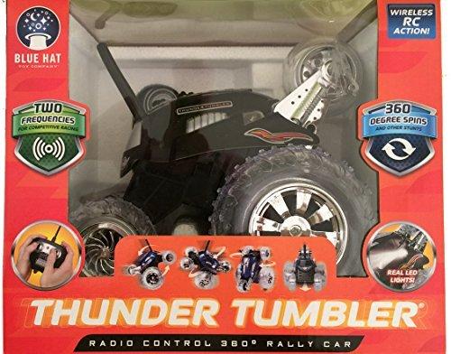 Thunder Tumbler Radio Control 360 Degree Rally Car (Black) ()