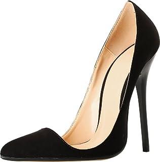 SHUT UP Sandales Compensées Femme - Noir - Noir, 42 2/3