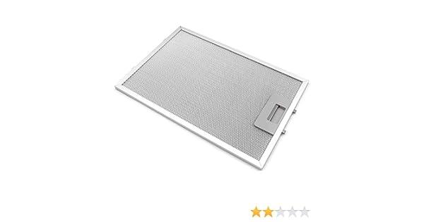 vhbw Filtro para grasa de metal de repuesto para campana extractorae Balay 3BD765X/01, 3BD765X/02, 3BD775X/01, 3BD775X/02, 3BD795X/01, 3BD795X/03.: Amazon.es: Grandes electrodomésticos