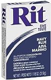 rit powder dye blue - Rit All-Purpose Powder Dye, Navy Blue