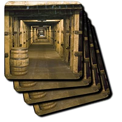 3dRose cst_90442_2 Kentucky, Makers Mark Bourbon Distillery US18 WBI0061 Walter Bibikow Soft Coasters, Set of 8