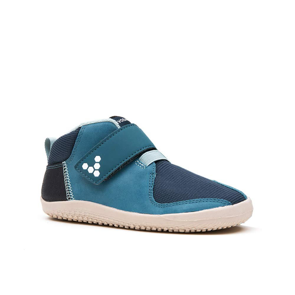 Vivobarefoot Kids Primus Bootie 28, Leather Indigo
