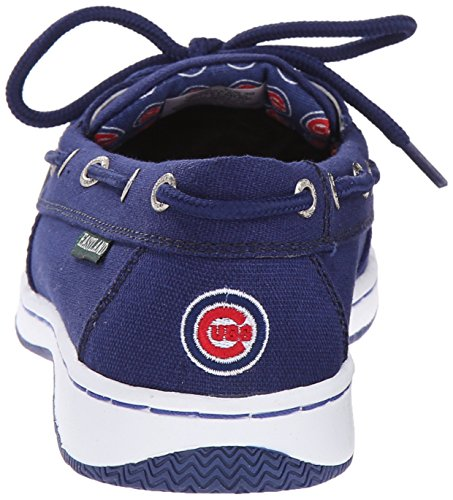 Eastland Womens Sunset MLB Cubs Boat Shoe Blue VkszJI8
