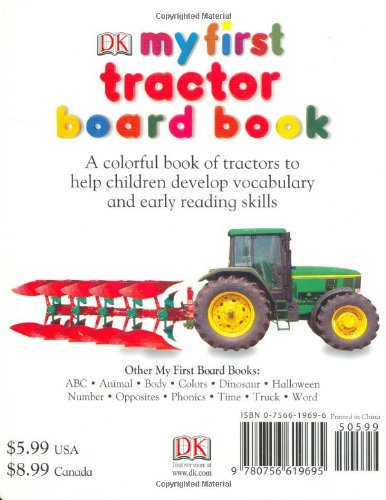 My First Tractor Board Book (My 1st Board Books)