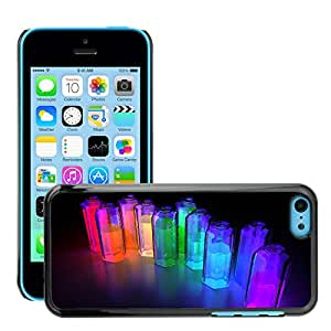 Super Stellar Slim PC Hard Case Cover Skin Armor Shell Protection // M00048207 bottles colorful 3d aero // Apple iPhone 5C