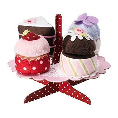 Grattis 5-p Serving Stand with Cupcakes Set