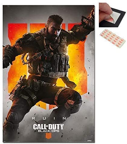 Maxi Size 36 x 24 Inch Call Of Duty Black Ops 4 Zombies Poster New