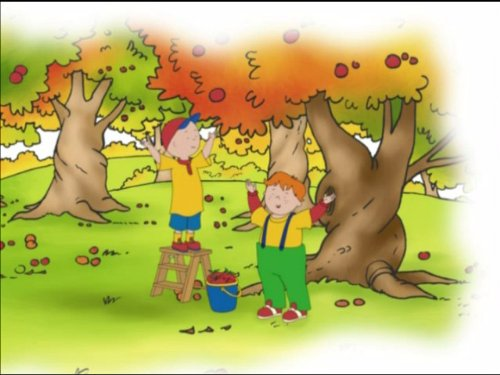 Caillou's Playschool Adventures