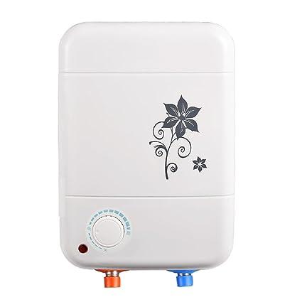 Water heater 8L 1.5kW Calentador de Agua eléctrico instantáneo para Lavado a Mano, Baño