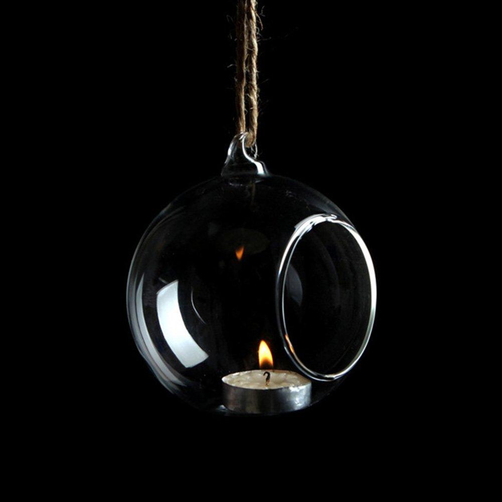 Scrox Candlestick Créatif Durable, Banquet Chandelier Bougie Décoration de Table de Bar, jour de Cadeau de Mariage Anniversaire Valentine Romantique(15cm)