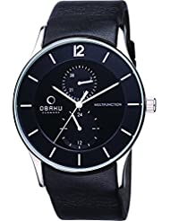 OBAKU V157GMCBRB Men's Classic Analog Watch with 3 Hands