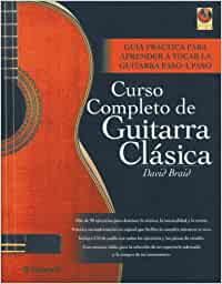 Curso completo de guitarra clásica 1 vol. + 1 CD Música: Amazon.es ...