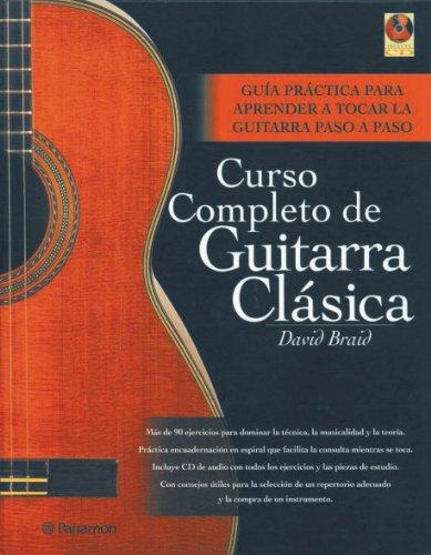 Curso completo de guitarra clásica 1 vol. + 1 CD Música: Amazon.es ...