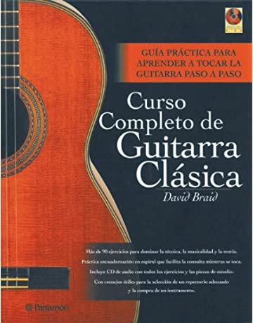 Curso completo de guitarra clásica (1 vol. + 1 CD) (Música)