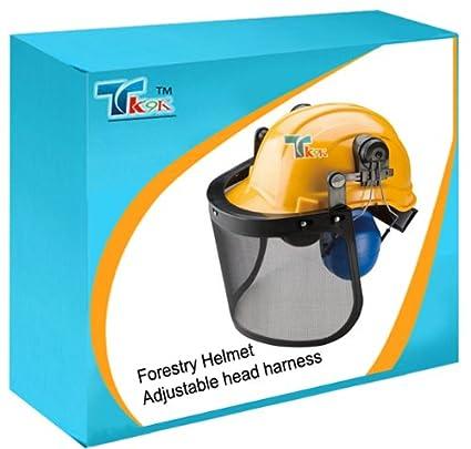 Seguridad y ropa cabeza USFS casco USFS impacto-resistente casco integral con protectores auditivos y