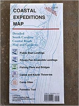 Coast Of South Carolina Map.Coastal Expeditions Map Of Coastal South Carolina Coastal