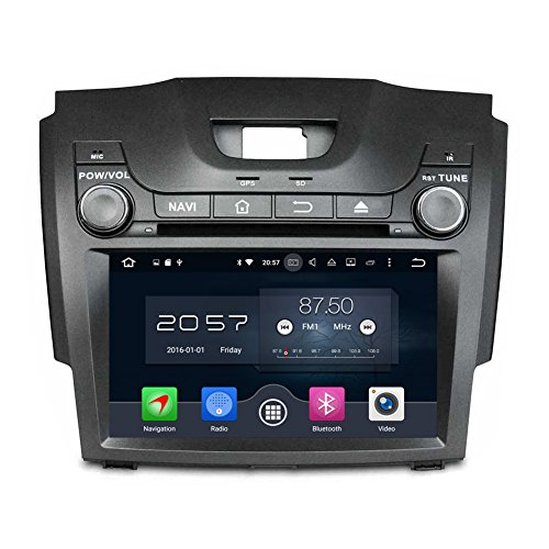 Android 8.0 Indash Car DVD Player Radio Stereo Navigation GPS System for Chevrolet S10/Isuzu D-Max 2013-2014