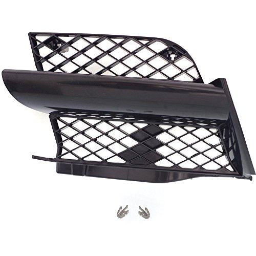 Grille for Mitsubishi Outlander 03-04 All Black Right Side