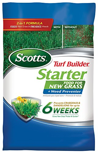 Scotts Turf Builder Starter Food for New Grass - Scotts Starter Fertilizer