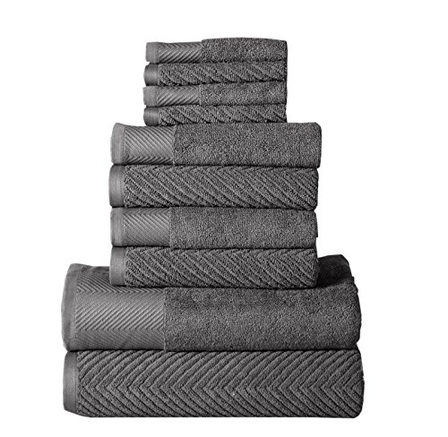 Affinity Home Collection 10 Piece Elegance Spa 100% Egyptian