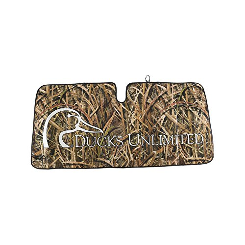 Windshield Shade, Accordion, MO Blades, Ducks Unlimited Unlimited Windshield