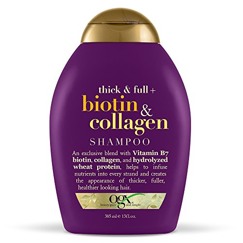 (OGX Thick & Full + Biotin & Collagen Shampoo, 13 Ounce)