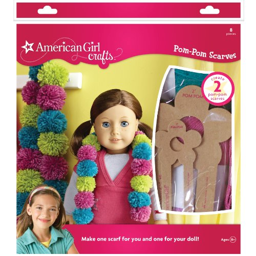 American Girl Crafts Pom Pom Scarves Kit