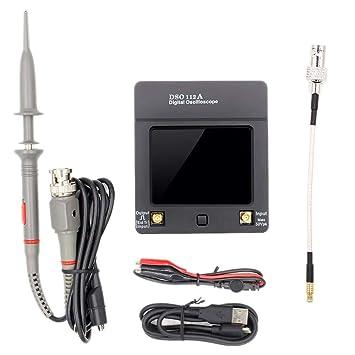 Noblik Dso112A Tft Digital Osciloscopio Pantalla De Prensa ...