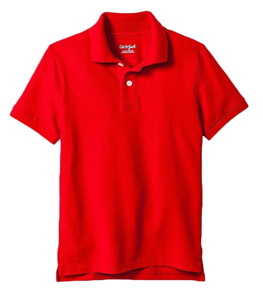 9f4d06fe1 Amazon.com: Cat & Jack Big Boys Polo Shirt: Clothing