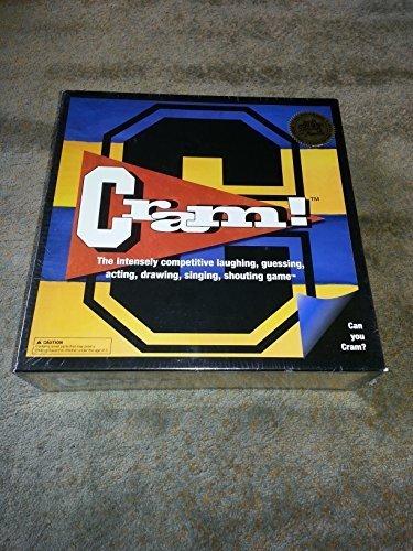 Cram  board game by Mojo Board Games