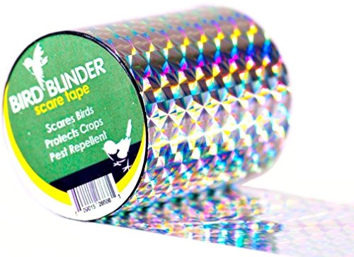 Bird Blinder - The Original Bird Repellent Scare Tape (Diamond) - 147 feet x 2 inch (Ribbon Device Types)