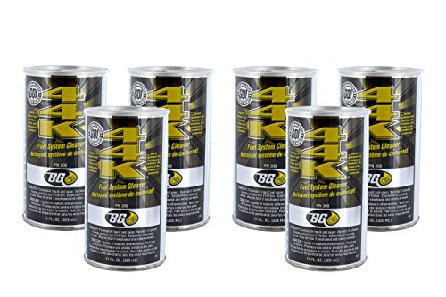 BG 44K Fuel System Cleaner Power Enhancer (QTY 6) 11oz cans