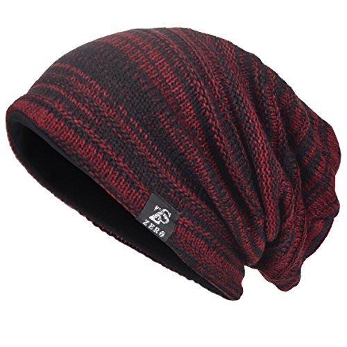Men's Cool Cotton Beanie Slouch Skull Cap Long Baggy Hip-Hop Winter Summer Hat - Cool Beanies