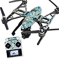 Skin For Yuneec Q500 & Q500+ Drone – Island Fish | MightySkins Protective, Durable, and Unique Vinyl Decal wrap cover | Easy To Apply, Remove, and Change Styles | Made in the USA