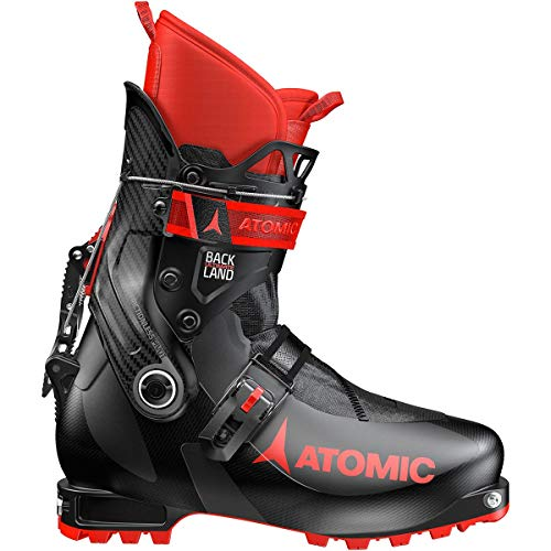 Atomic Backland Ultimate Ski Boot Black/Red, 24.5 (Ski Boots Bag Atomic)