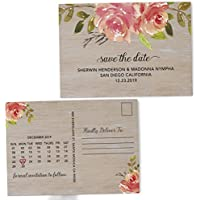 Amazon save the date or save the dates invitations loveateverysight rose art save the date postcards for weddings invitation invite card wedding announcement marriage calendar personalized filmwisefo