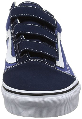 V Blue Vans Adults' Skool Trainers Unisex Old wYY7ICn