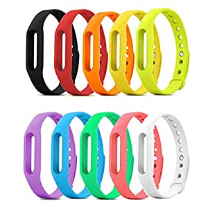 DDJOY Replacement Wristband Case Compatible with Pokemon Go Go-tcha, Medium Size (10-Pack)
