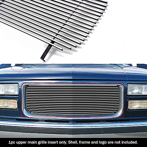 - APS G85012A Polished Aluminum Billet Grille Replacement for select GMC C1500 Models