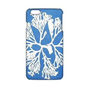Cool-benz Blue snowflakes 3D Phone Case for iPhone 6 plus