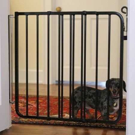 Cardinal Auto Lock Pet Gate - Black by Cardinal