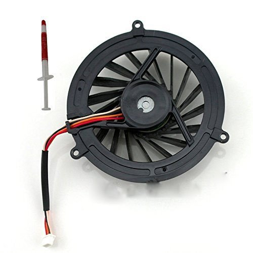 (Gametown Laptop CPU Cooling Fan for Sony Vaio VGC-JS Series Replacement Part Number UDQFZRH06DF0 UDQF2RH55DF0 UDQF2RH53DF0 DC5V 0.30A 4-pin)