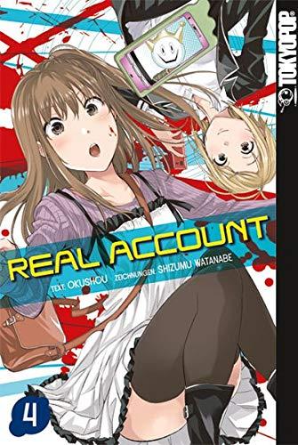 Real Account 04 Taschenbuch – 11. Oktober 2018 Shizumu Watanabe TOKYOPOP 3842041632 Manga / Action